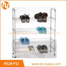 Hot Sale OEM 4-Tier Wire Shoe Shelf Unit