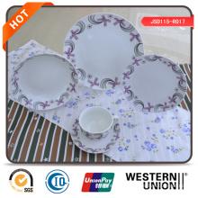 Alta qualidade 47PCS jantar conjunto de porcelana