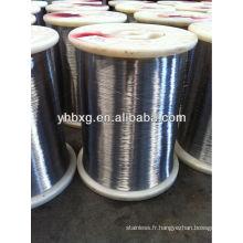 fil d'acier inoxydable 304 pour cravate