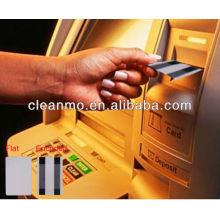 Tarjeta de limpieza ATM para cajero automático