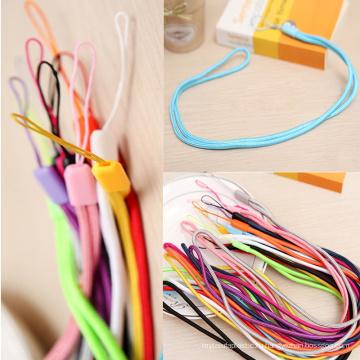 Мульти-цвет длинный плетеный Канат для мобильного телефона ремешок шнур и ключ