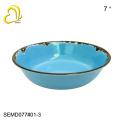 High quality blue melamine dinnerware sets/melamine dinner set/ melamine tableware