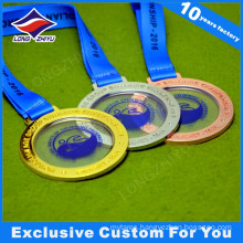 Transparent Centre New Design Metal Medals