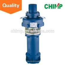 Fabricación de China de la venta caliente QY serie de aceite de hierro fundido en aceite sumergido lleno de aceite de la bomba sumergible centrífuga bomba de gran flujo mina