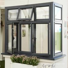 Aluminium double glazed windows doors australia standard AS2047 with subhead subsill toughened laminated glass