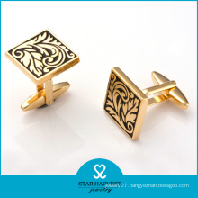 Luxury Gold Plating Copper Cufflinks for Meeting (BC-0014)
