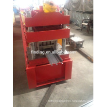 CE standard rolling shutter door roll forming machine steel door frame making machine