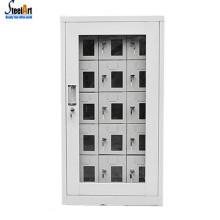 Multi porta do telefone móvel de carregamento armário de segurança estação de carregamento para o telefone de carregamento do armário