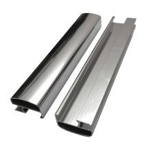Полированные зеркальные алюминиевые профили высокой яркости