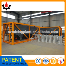Horizontal cement silo,portable cement silo factory price