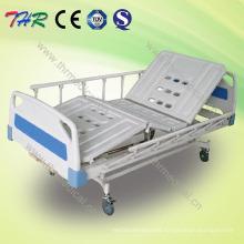 Cama de hospital manual de 2 manivelas (THR-MBFY)