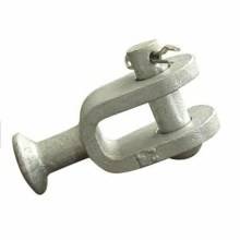 Hot Dip Galvaniserad Link Fitting QS Ball Clevis