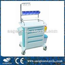 AG-NT001B Luxurious abs Plaster Room Cart