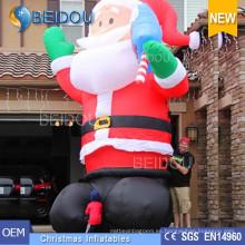 Publicidad inflable Santa inflable Navidad inflable Santa Claus