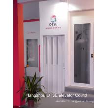 Elegent design for elevator cabin used aluminium folding doors