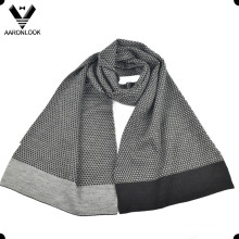 Mode Jacquard 30% Wolle 70% Acryl Herren Winter Schal