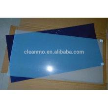Lab mat, sticky mat , blue tacky mat . cleanroom sticky mat ,cleaning sticky mat