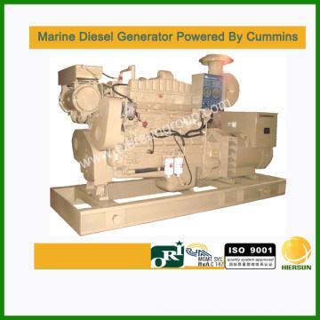 Generadores diesel marinos alimentados por Cummins 40kw-1000kw