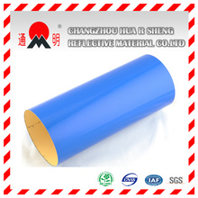 Blue Engineering Grade Reflective Sheeting for Road Traffic Signs Guiding Signs