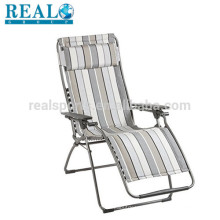 Realgroup Chaise Lounge Cadeiras De Alta Qualidade De Alumínio Praia Cadeira Dobrável