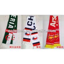 Le meilleur écharpe en acrylique de football en gros