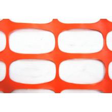 Clôture de sécurité en plastique, clôture de neige, filet de sécurité