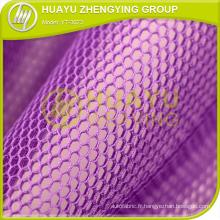Tissu en maille en polyester tricoté en chaîne pour dressage