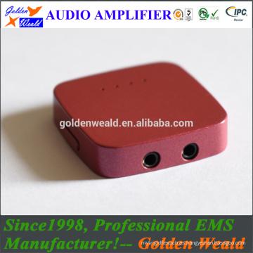 portable audiophile amplifier headphone amplifier rechargeable battery amplifier