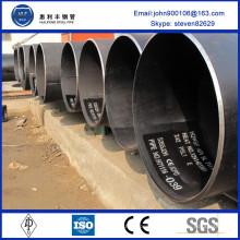 TOP Fabricant pe erw steel pipe
