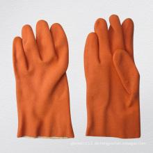 13G Frottee-Liner PVC-beschichteter Handschuh-5132