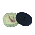 Round shape paper color boxes packaging boxes