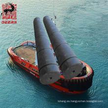 Defensa de goma del tirón del cilindro hueco certificada ISO para el barco