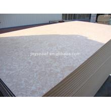 Zero formaldehyde release mdf placa de fibra