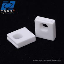 disque en céramique d'alumine résistant à l'usure