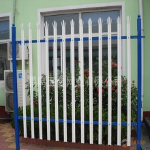 PVC coated euro metal picket fence panels