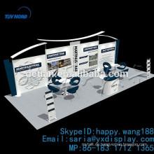 tragbare Aluminium-Messe-Stand-Display, Ausstellung Hintergrund Display-Kabine benutzerdefinierte