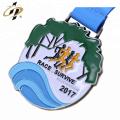 Médaille de course de marathon