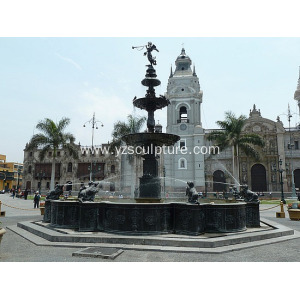 Large Bronze Fountain For Sale