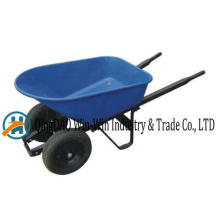 Carretilla Wh9600-1 Rueda sólida de ruedas