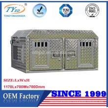 direct manufacturer metal diamond plate truck dog box