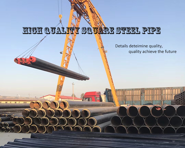 Polyurethane Foam Thermal Insulation Steel Pipe