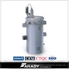 11kv 25kVA Трансмиссионная мощность Csp для однофазной сети