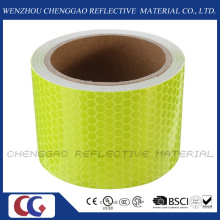 Fluorescent Reflective Safety Warning Adhesive Engineering Marking Tape (C3500-OXF)