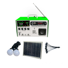 10w LCD solar cell Solar FM radio kit