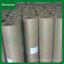 Stainless Steel Welded Wire Mesh Price/Welded Rabbit Cage Wire Mesh/1x1 Welded Wire Mesh