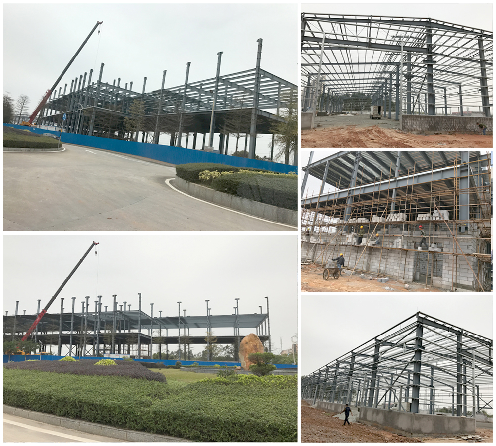 College Station Steel Structure