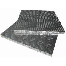 Paneles de panal de aluminio antideslizante para piso de escenario