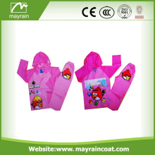 Material impermeable de PVC Niños Impermeable Kid Rainsuit