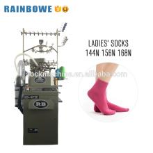 China factory equipment sock knitting machine price used for cotton nylon socks making
