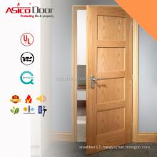 ASICO Solid Wood Interior 4 Panel Shaker Door